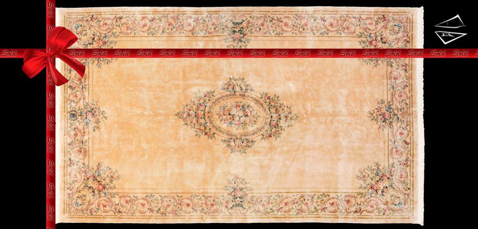 12x20 Savonnerie Design Rug