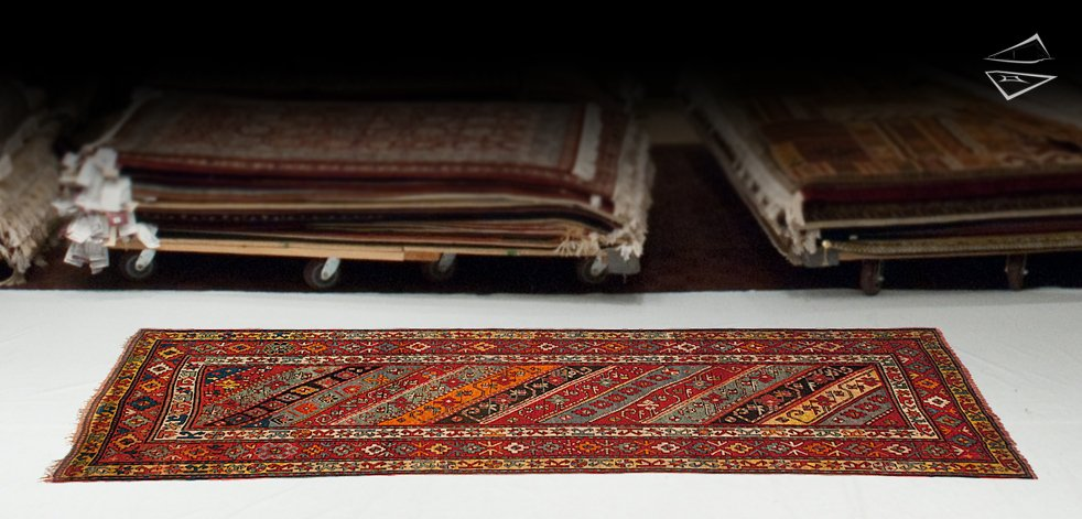 5x11 Siberian Kazak Rug Runner