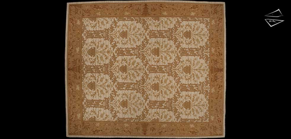 12x14 Spanish Square Rug