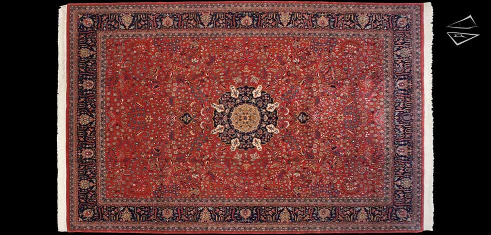 9x14 Tabriz Design Rug