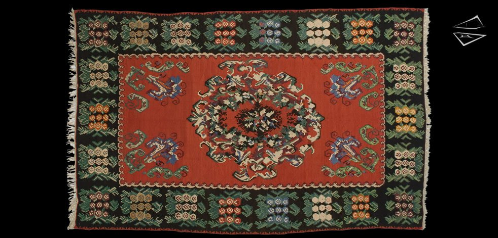 7x11 Turkish Bessarabian Rug