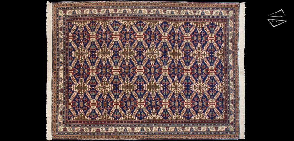 8x11 Turkish Caesaria Rug