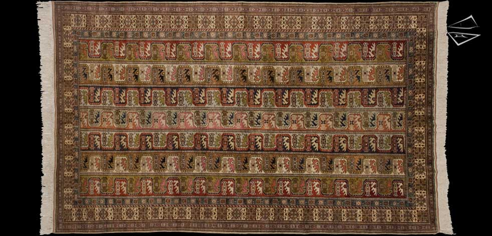 6x10 Turkish Maharamat Rug