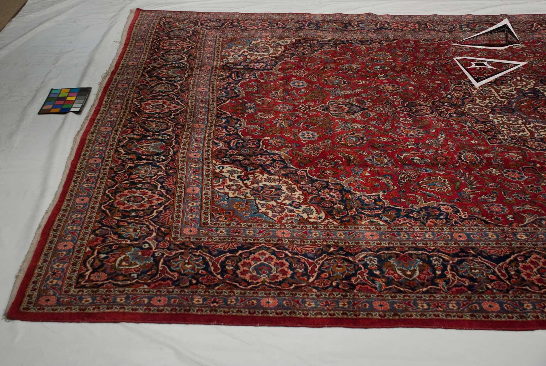 Persian Kashan Rug 10 X 14