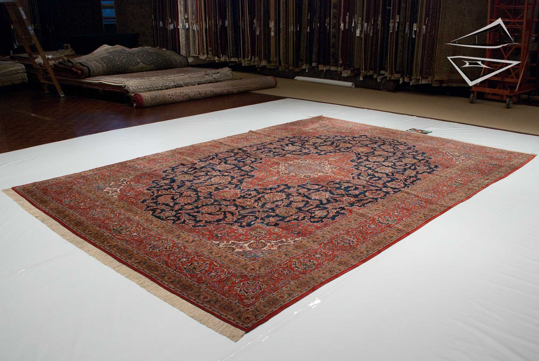 persian kashan rug 10' x 15'