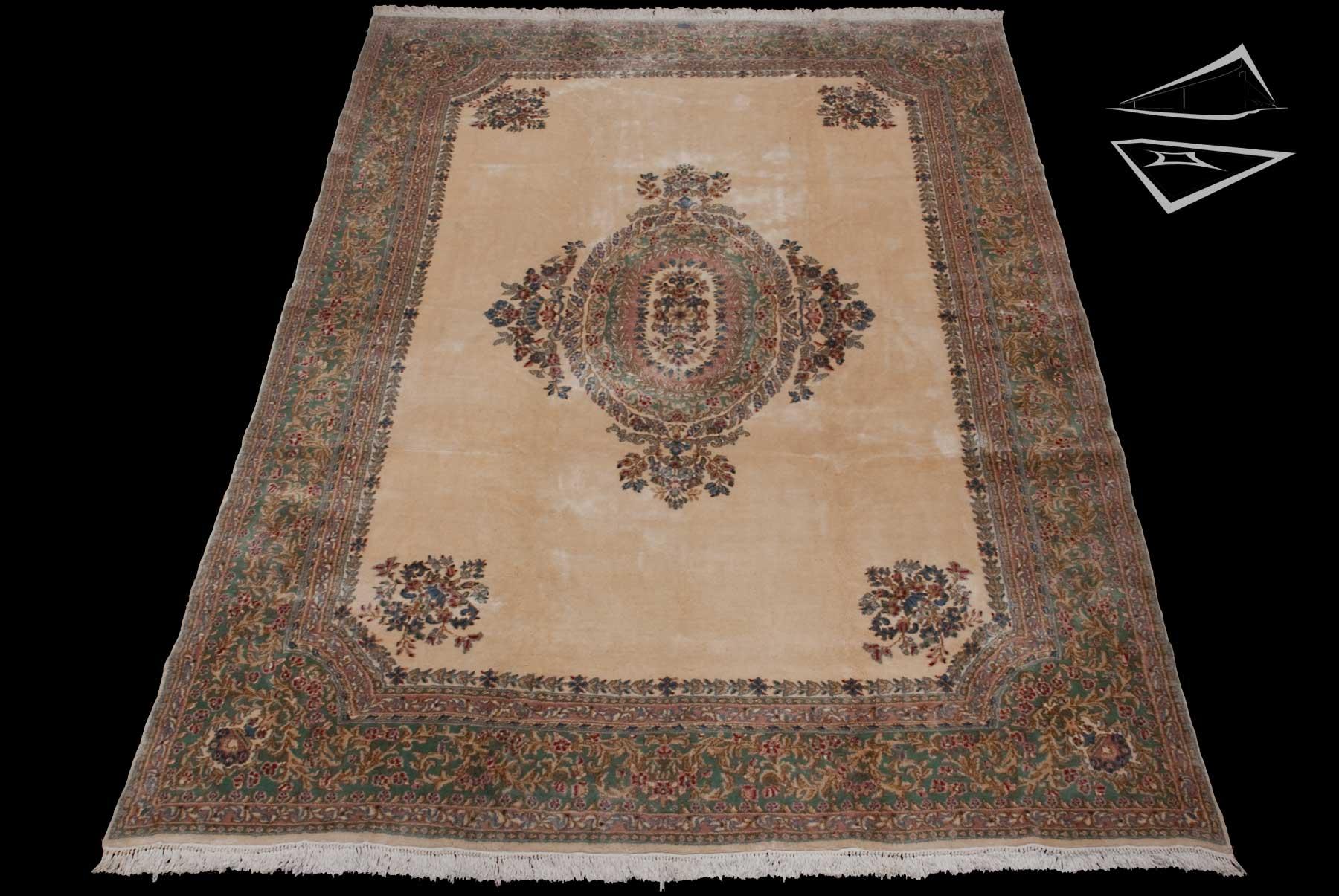 persian kerman rug 10 39 x 15 39. Black Bedroom Furniture Sets. Home Design Ideas