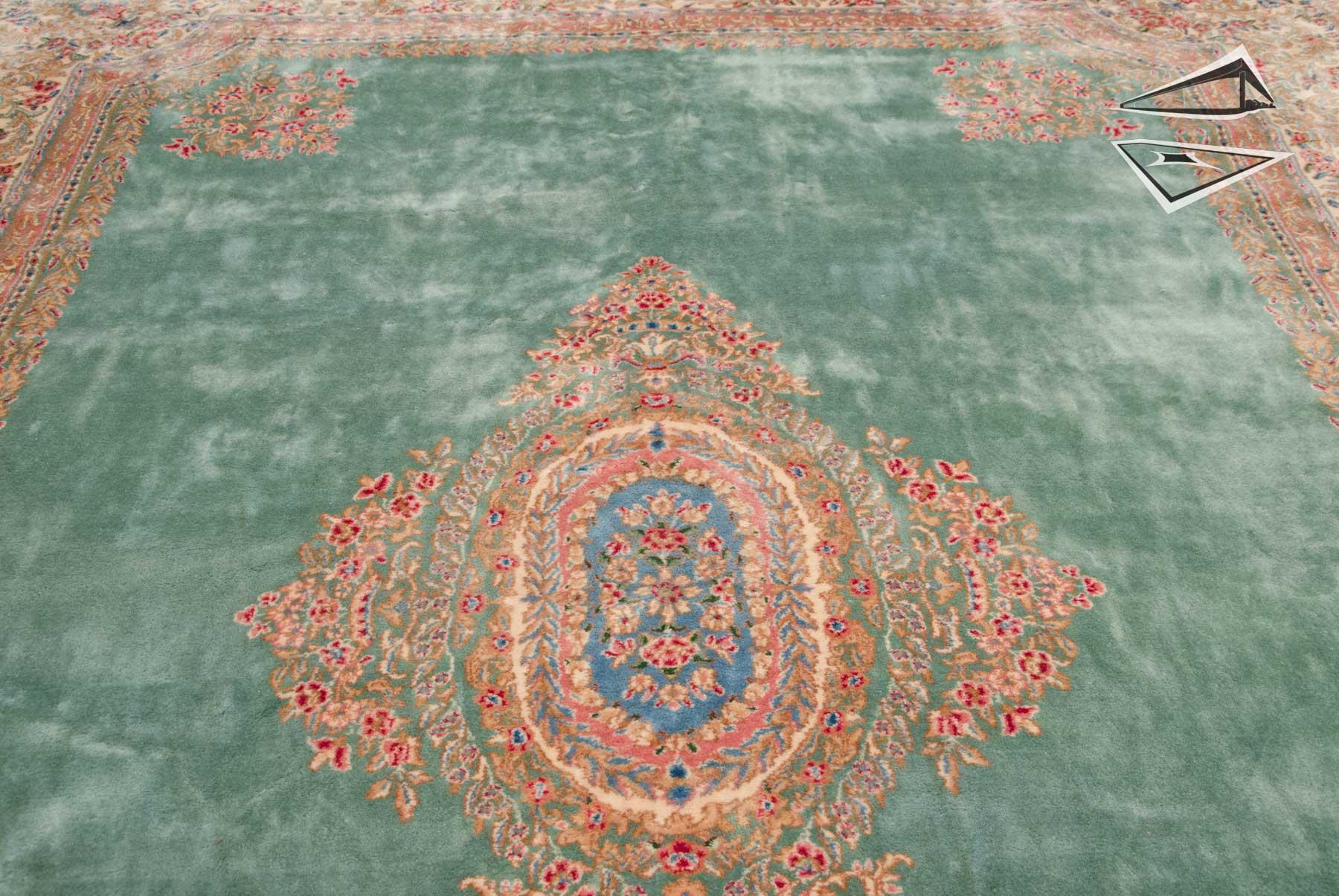 Persian Kerman Rug 10 X 16