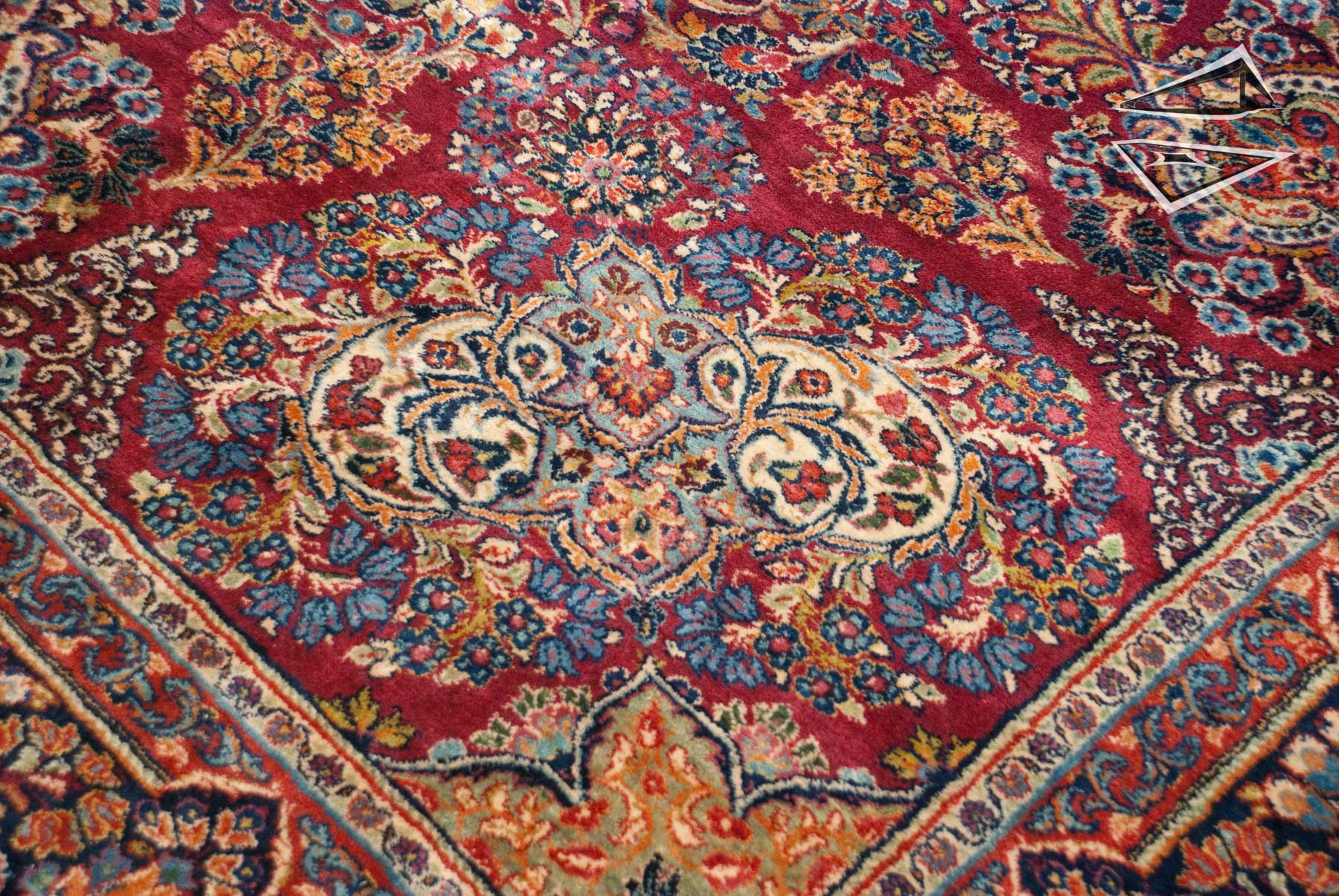 Persian Cyrus Crown 174 Sarouk Rug 10 X 17