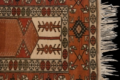 Turkish Melas Prayer Rug Runner