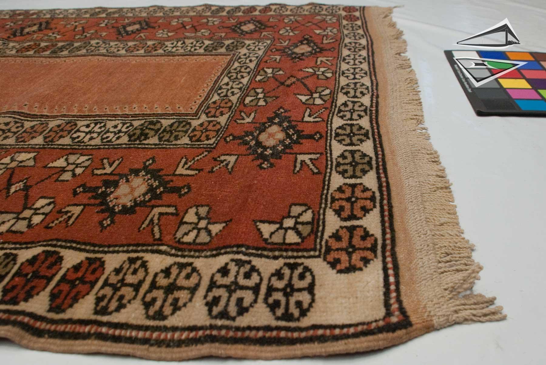 turkish melas prayer rug runner 3 39 x 6 39. Black Bedroom Furniture Sets. Home Design Ideas