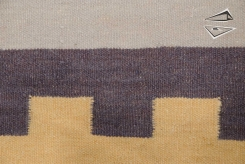 Modern Dhurrie Square Rug
