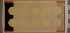 Modern Dhurrie Rug