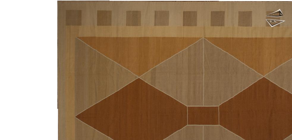 Modern Design Kilim Style Rug 10 X 14