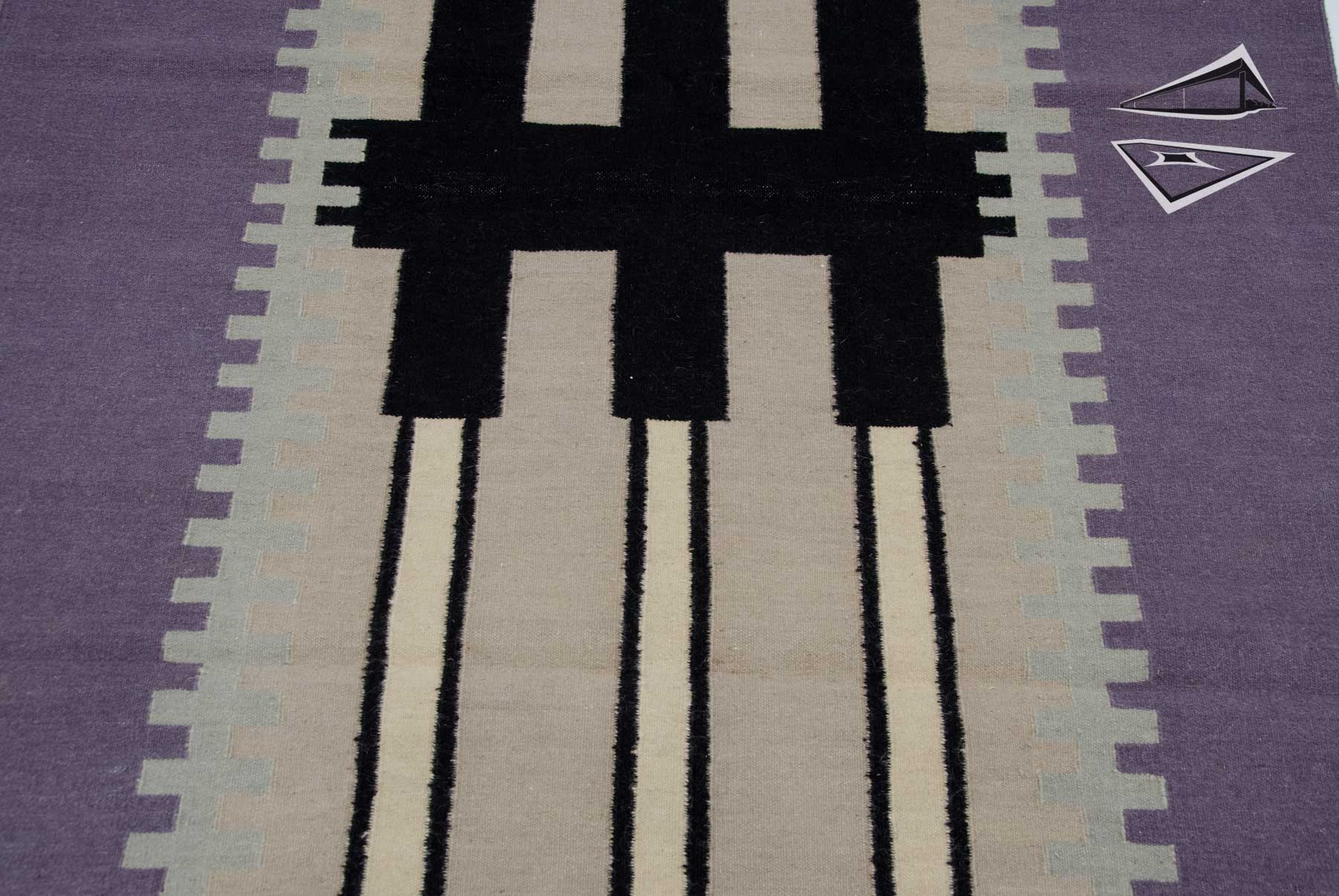 Modern design kilim style rug runner 4 39 x 12 39 for Kilim designs