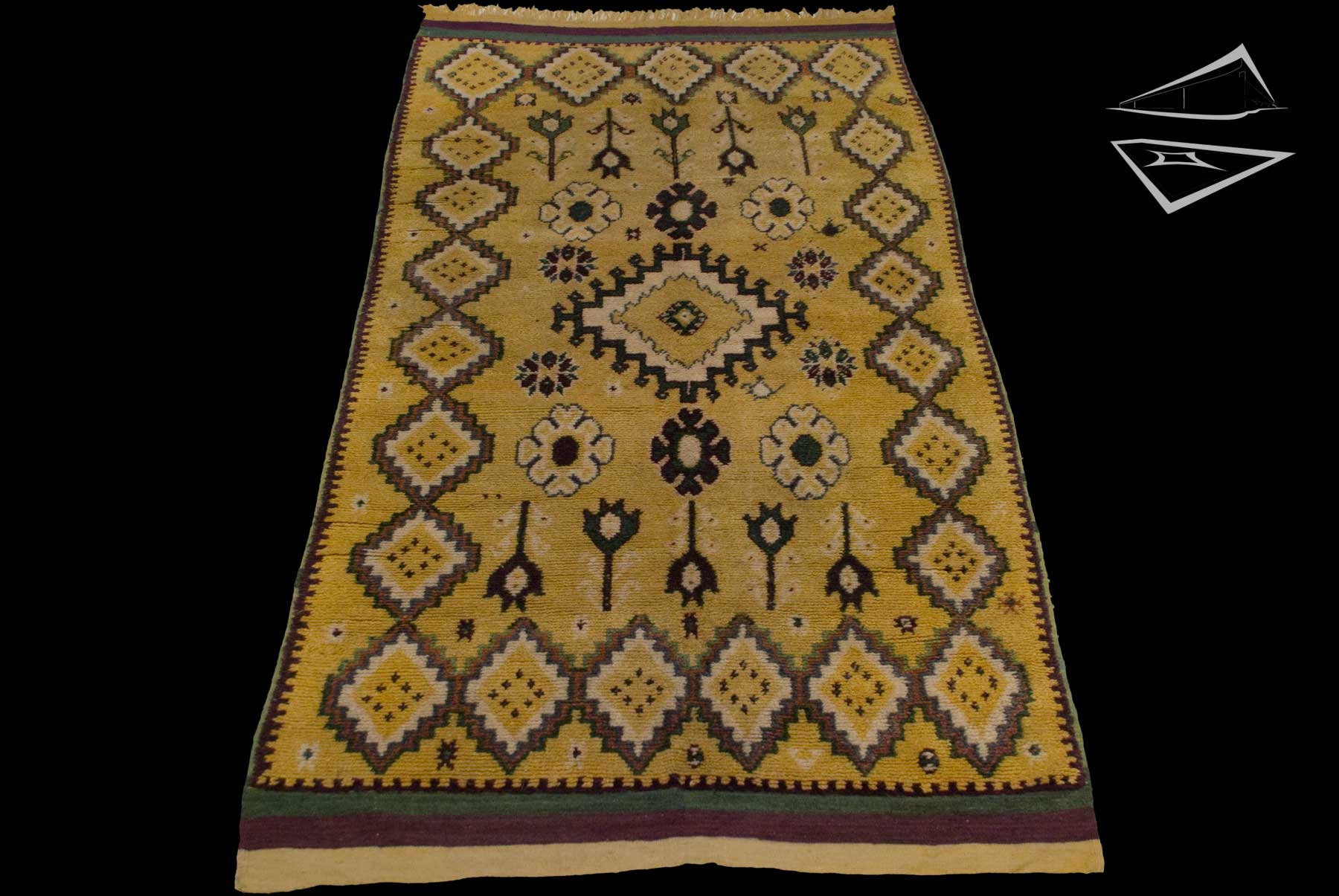 Tribal Moroccan Rug Runner 5 X 10