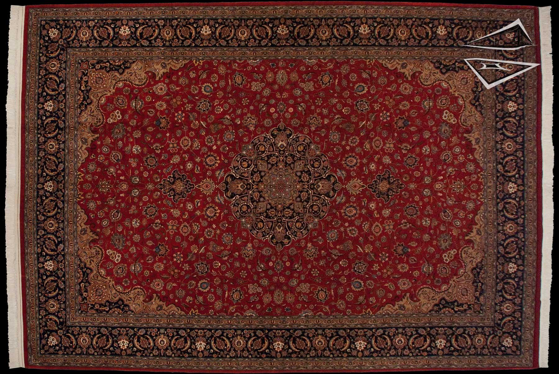 persian design pakistani rug 12 x 17
