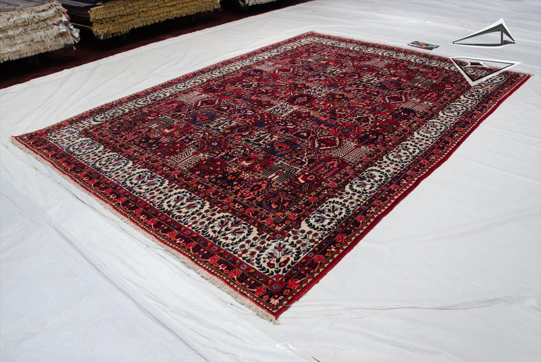 Persian Bakhtiari Rug 8 X 12