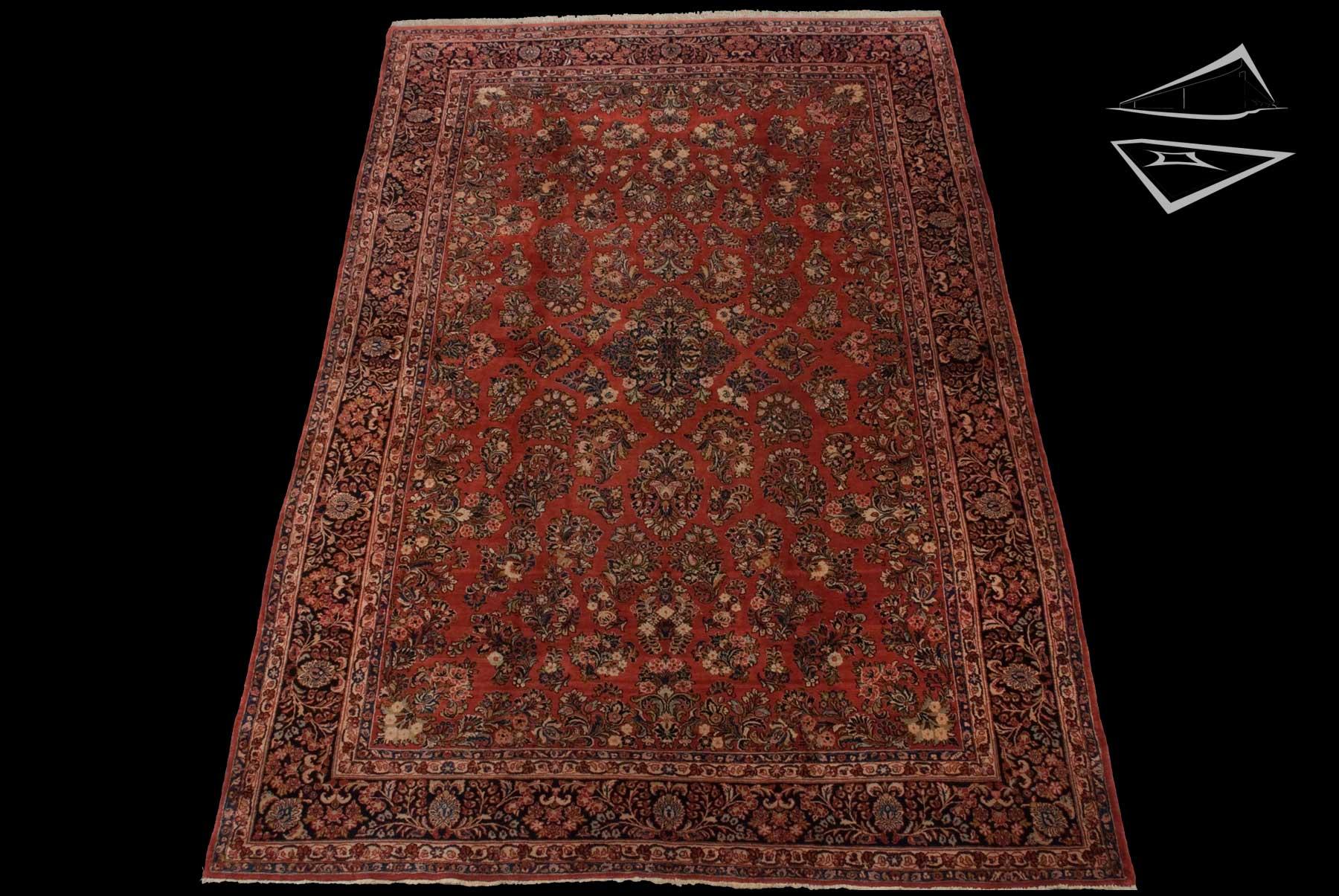 Persian Sarouk Rug 10 X 15