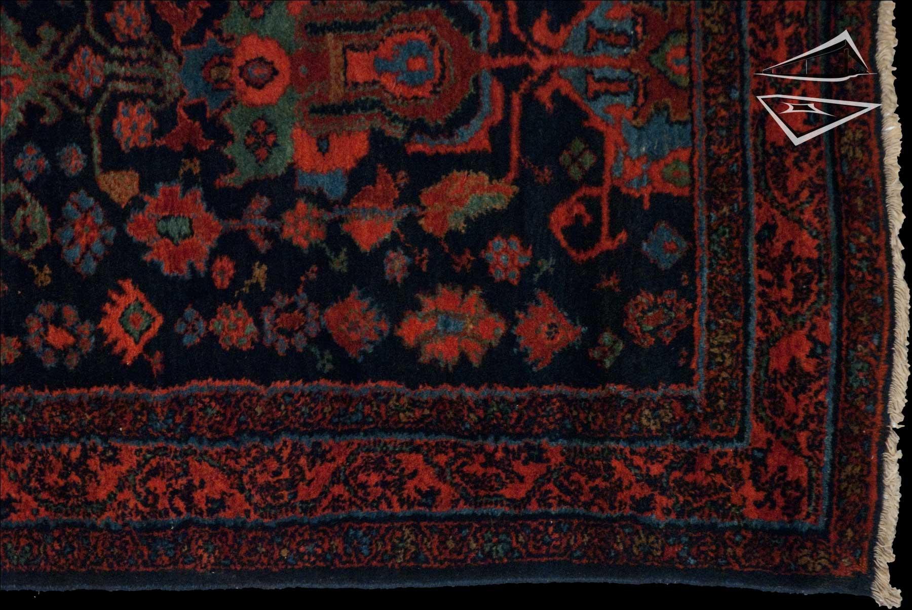 Persian Hamadan Rug Runner 3 3 Quot X 17 5 Quot