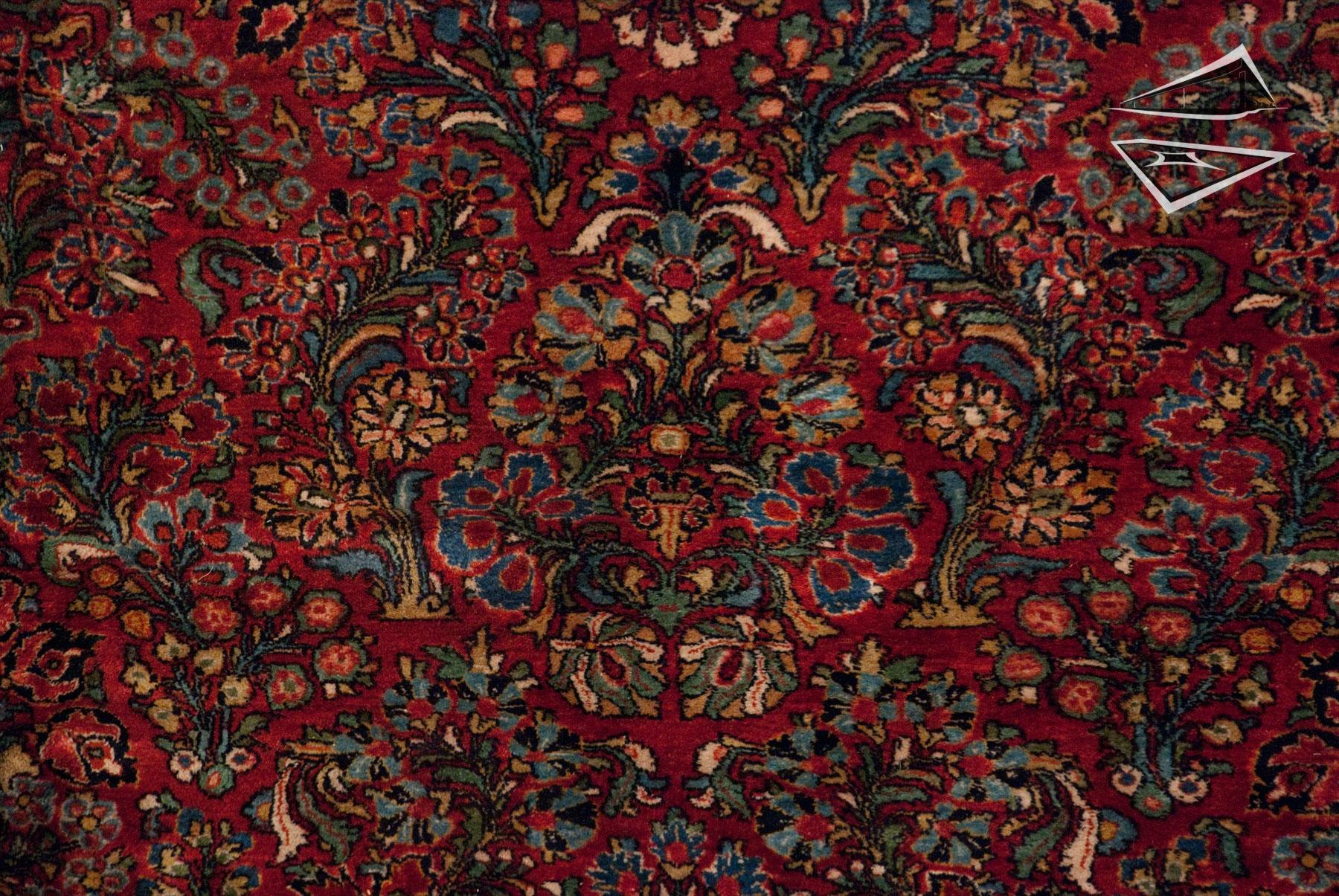 Persian Sarouk Rug 12 X 21