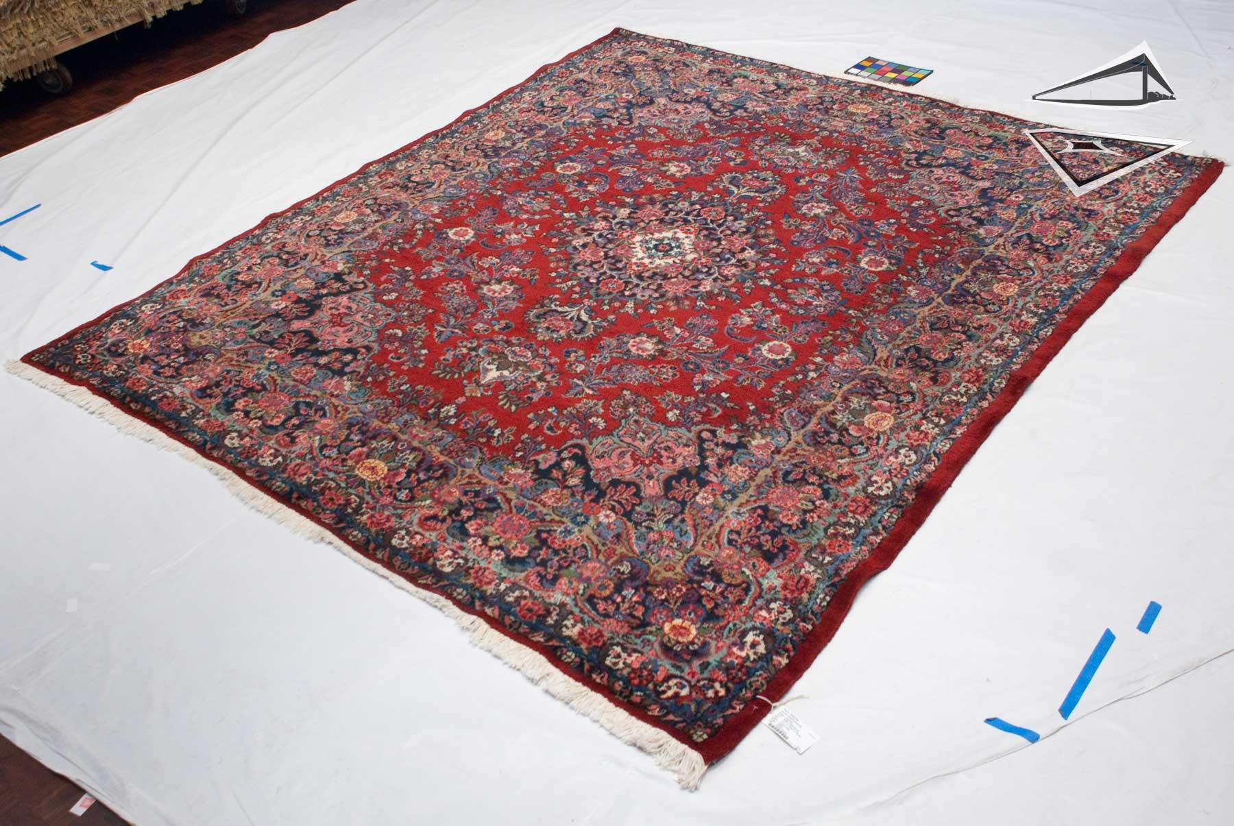 Persian Kazvin Rug 8 X 10