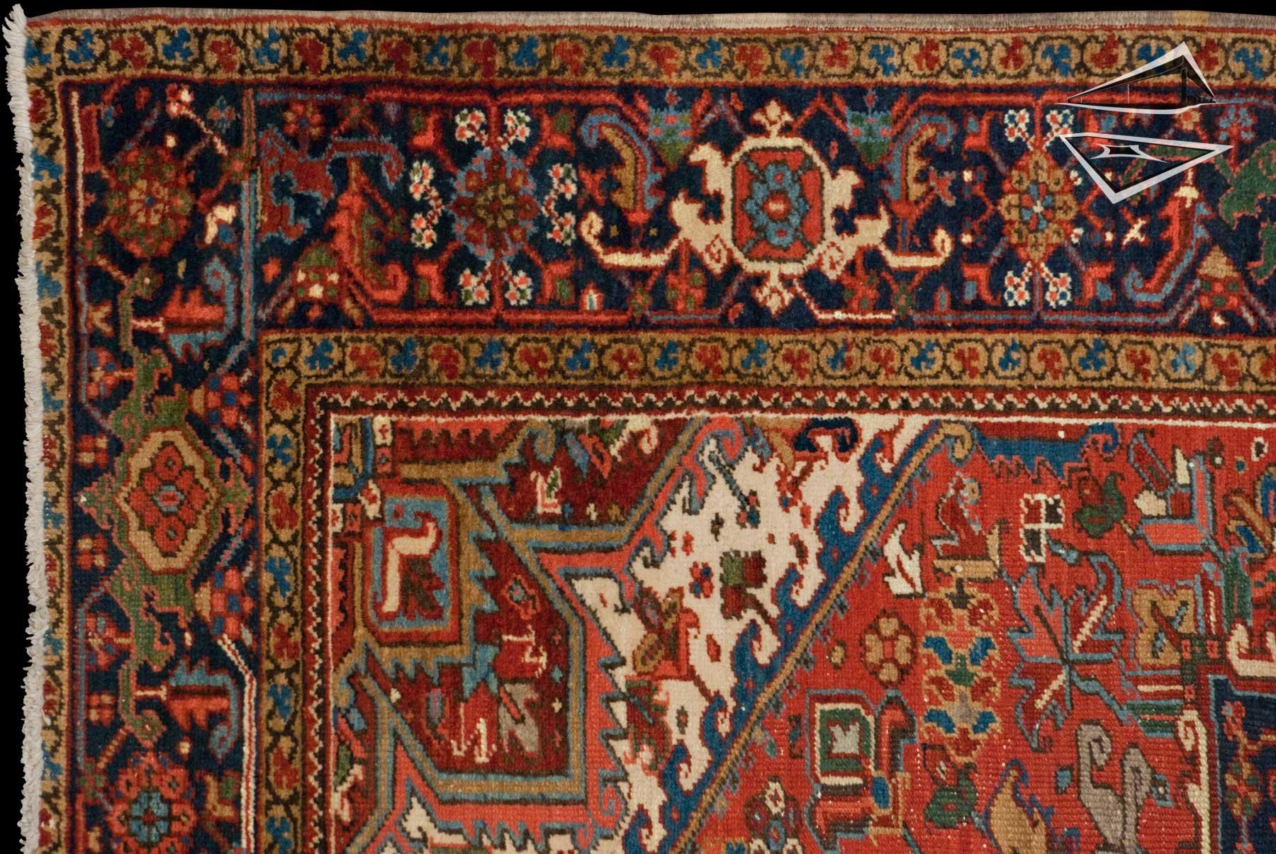 Beautiful Persian Heriz Rug