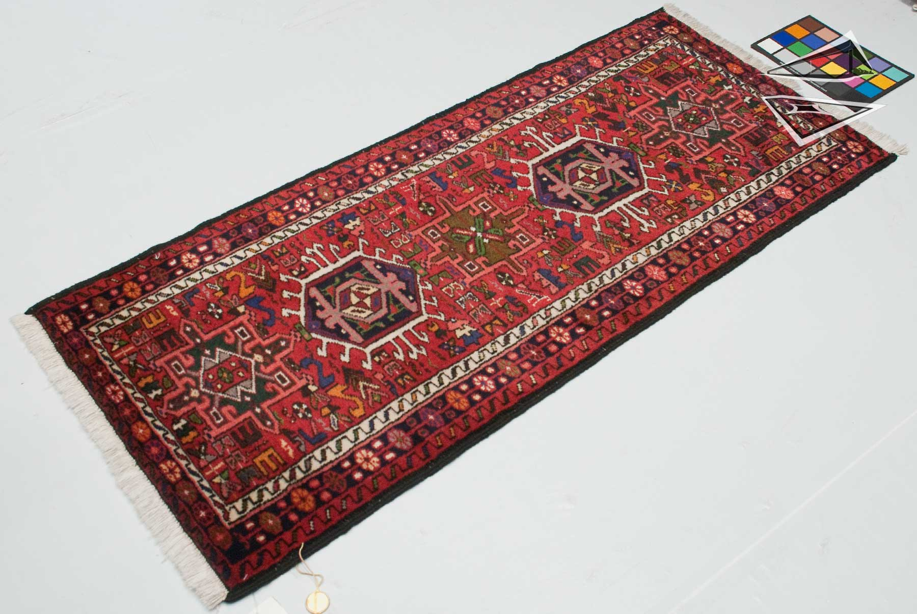 Persian karaja rug runner 2 39 x 5 39 for Runners carpets and rugs