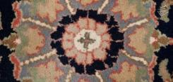 Tabriz Design Square Rug