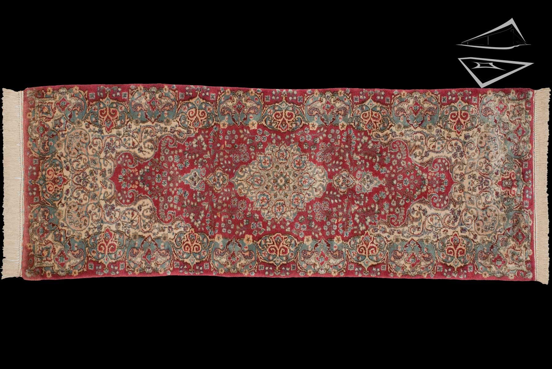 persian kerman rug runner 2 39 6 x 8 39. Black Bedroom Furniture Sets. Home Design Ideas