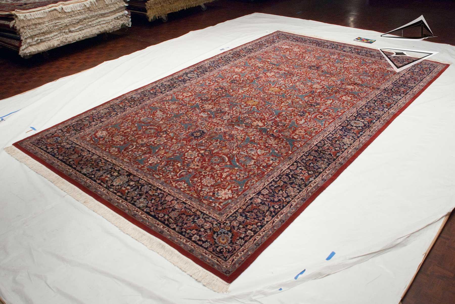 Kashan Design Rug 9 X 15