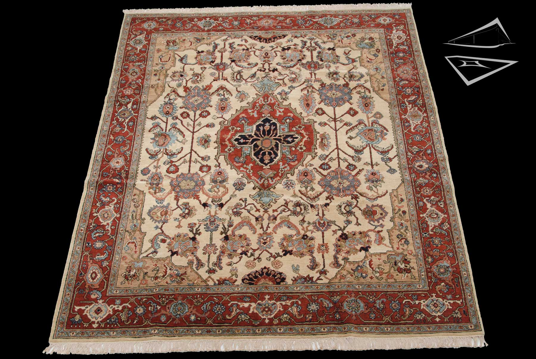 Sultanabad Design Rug 8 X 10