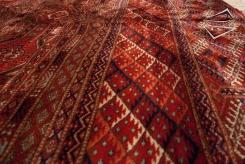 Fine Bokhara Square Rug