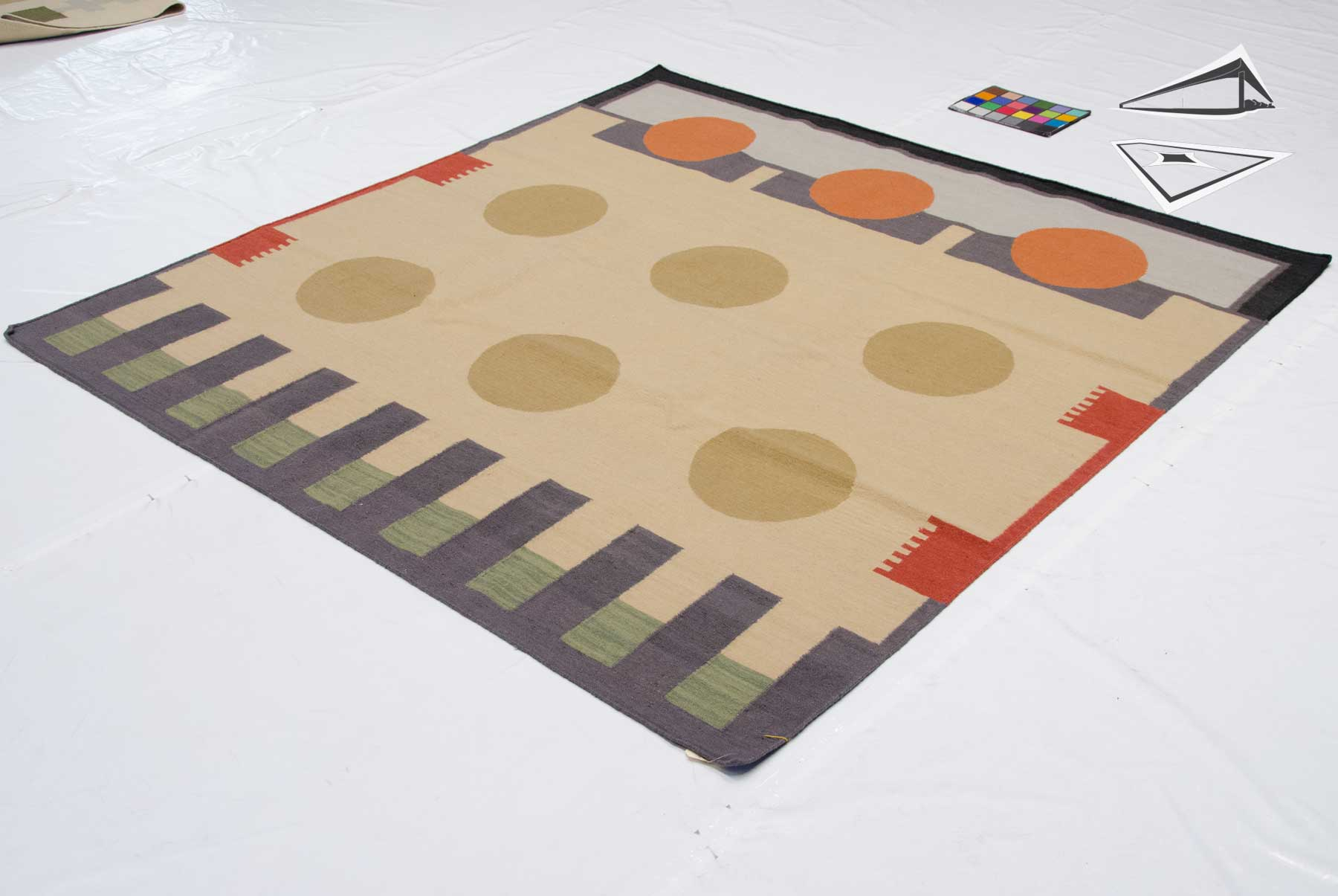 modern square rug contemporary dhurries square 7 square brown ivory area rug contemporary rugs