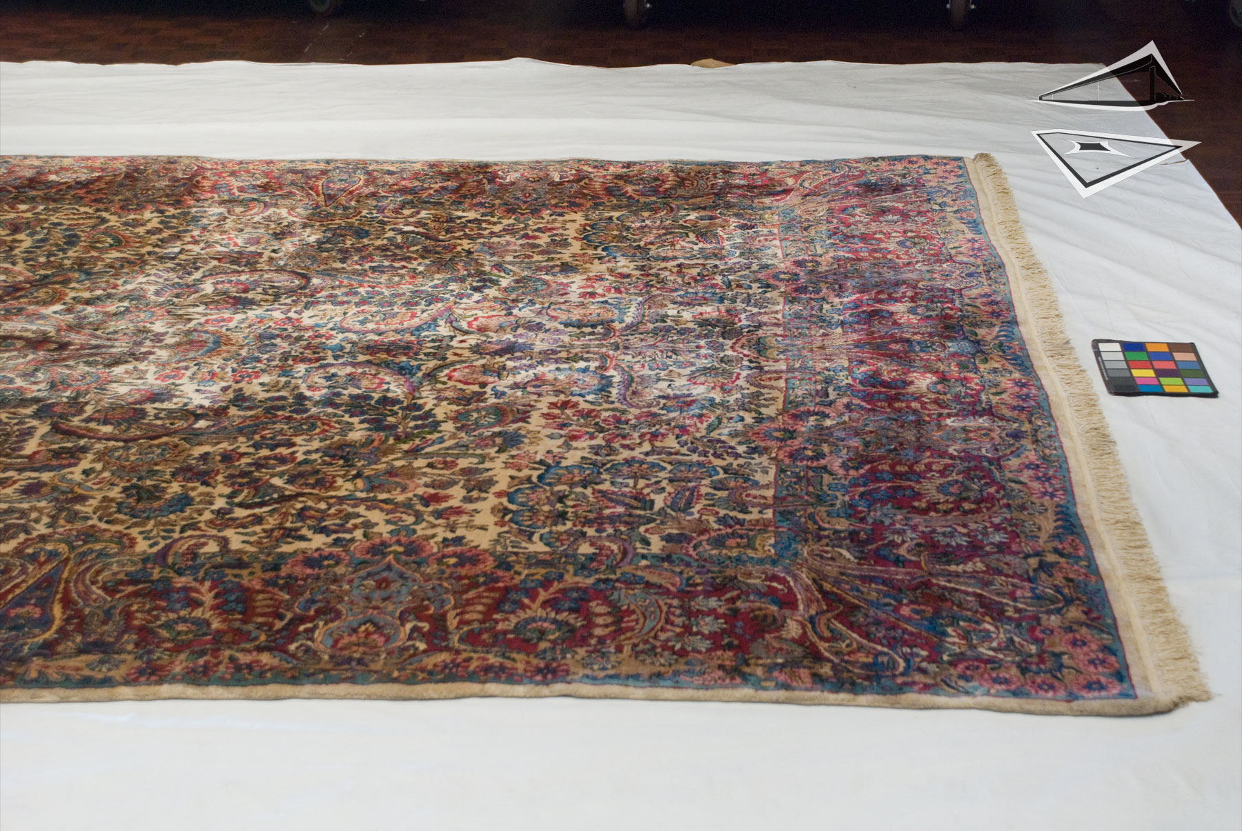 Persian Cyrus Crown 174 Kerman Rug 10 X 17