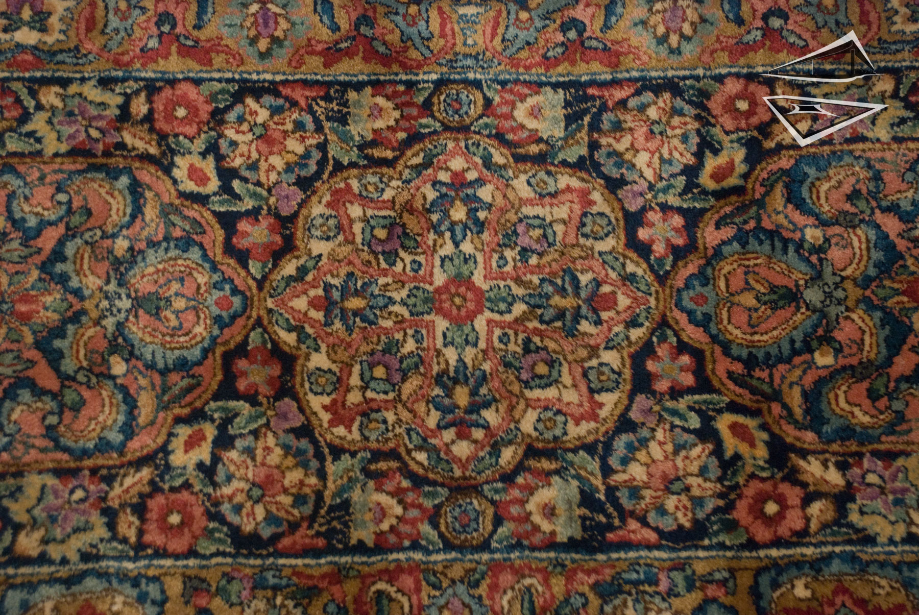 Persian Cyrus Crown 174 Kerman Rug 12 X 15