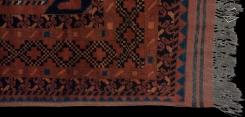 Afghan Taghan Square Rug