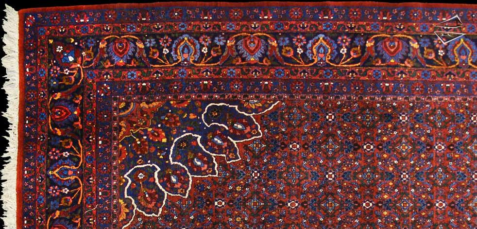 Beautiful Persian Bijar Rug
