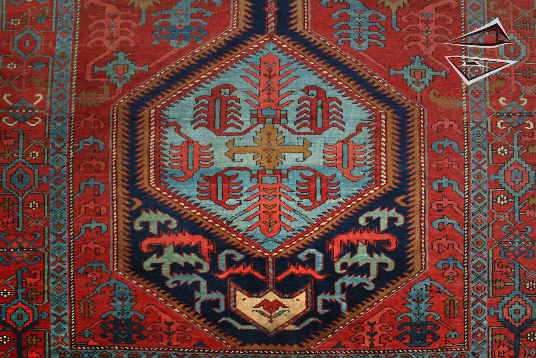 Persian Heriz Rug Runner 6 X 17