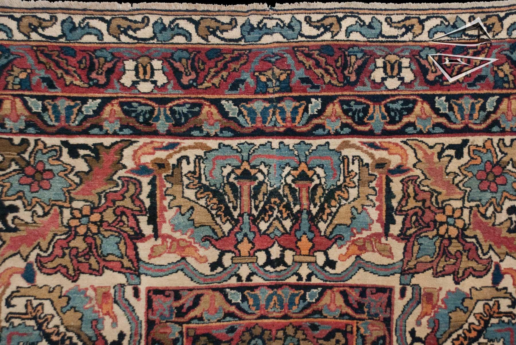 Antique Kerman Rugs And Carpets - Carpet Vidalondon