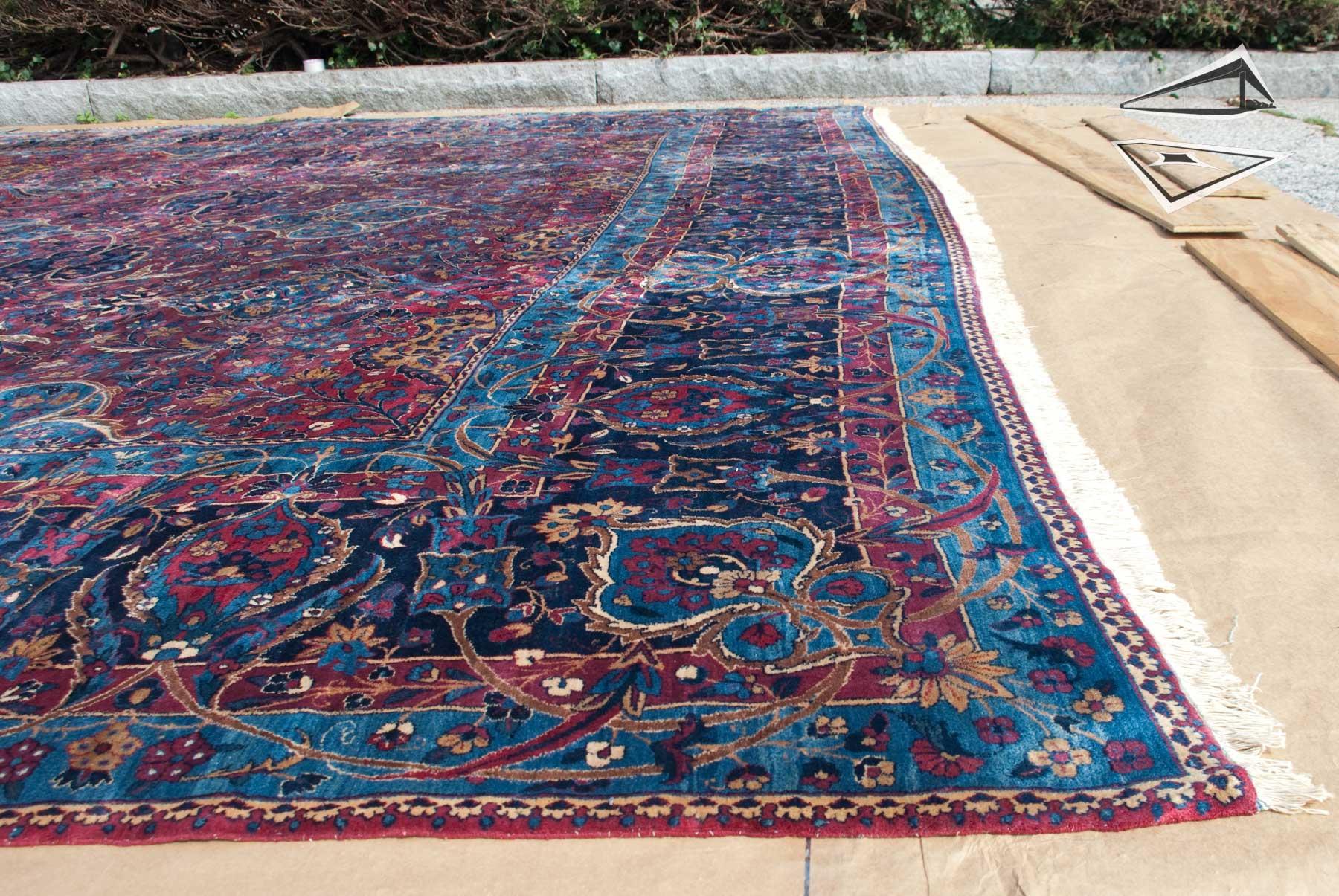 Persian Kerman Rug 16 X 29