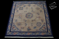 Peking Design Square Rug