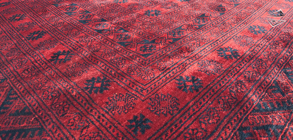 Afghan Ersari Square Rug 15 X 15