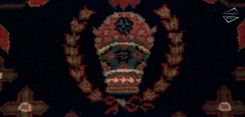 Farahan Sarouk Design Rug