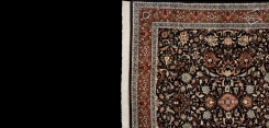 Kashan Design Square Rug