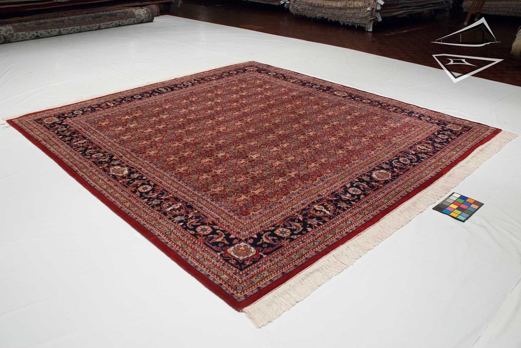 herati tabriz design square rug 10 39 x 10 39. Black Bedroom Furniture Sets. Home Design Ideas