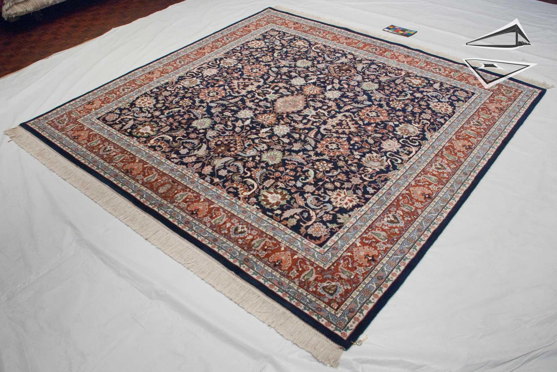 Kashan Design Square Rug 10 X 10