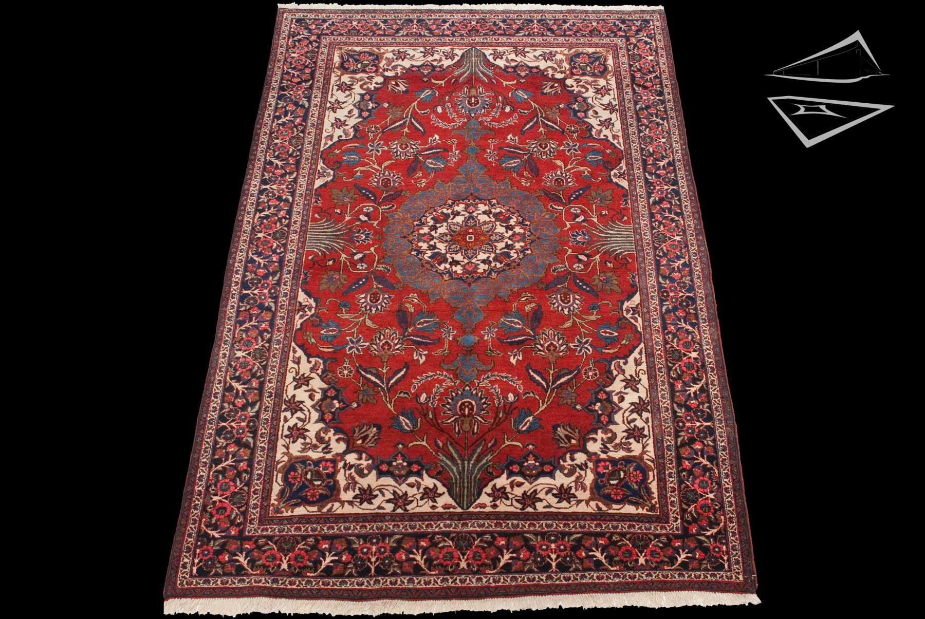 Persian Tabriz Rug 7 X 11