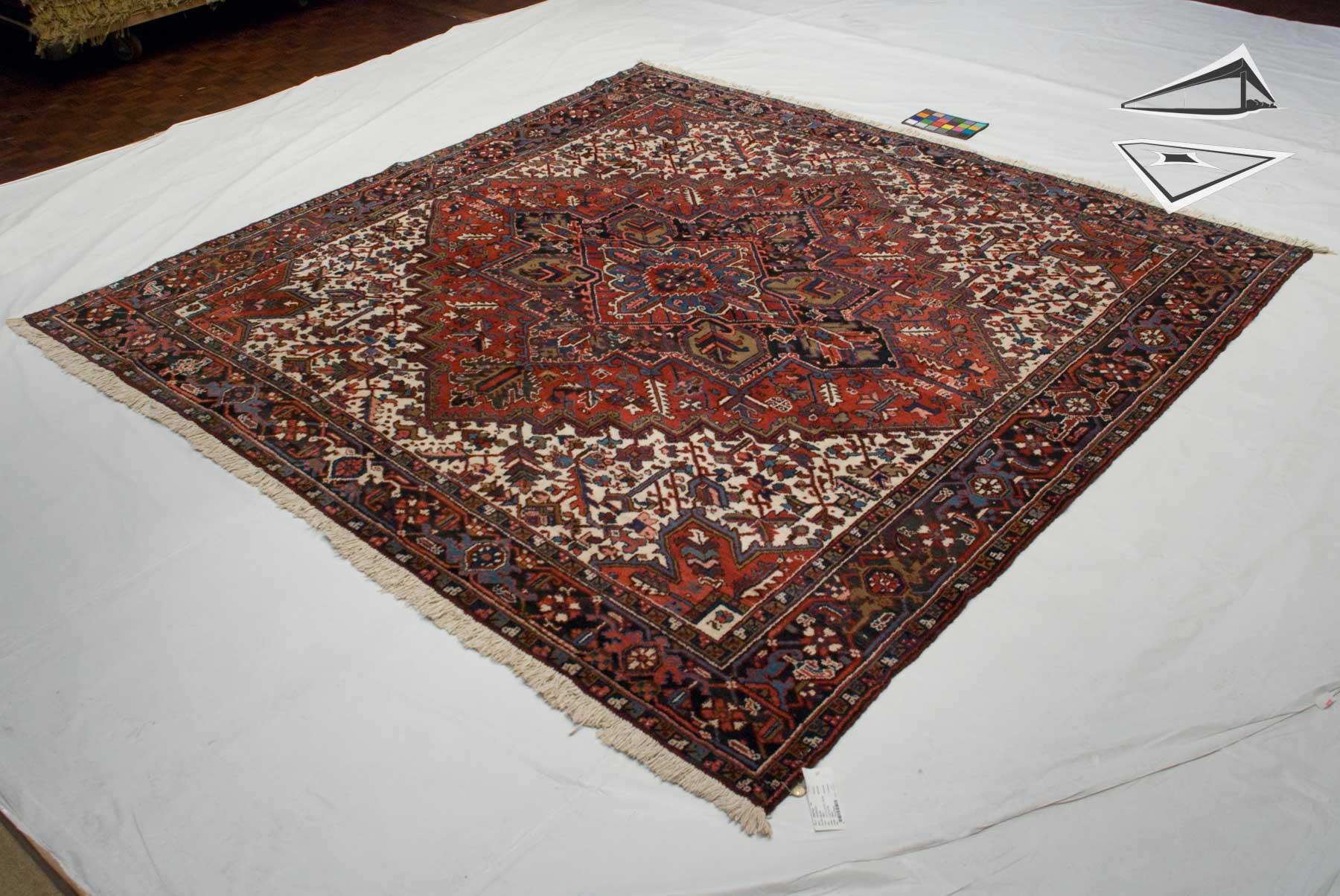 persian mehrivan rug square 10 39 x 10 39. Black Bedroom Furniture Sets. Home Design Ideas