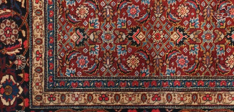 Persian Tabriz Rug .