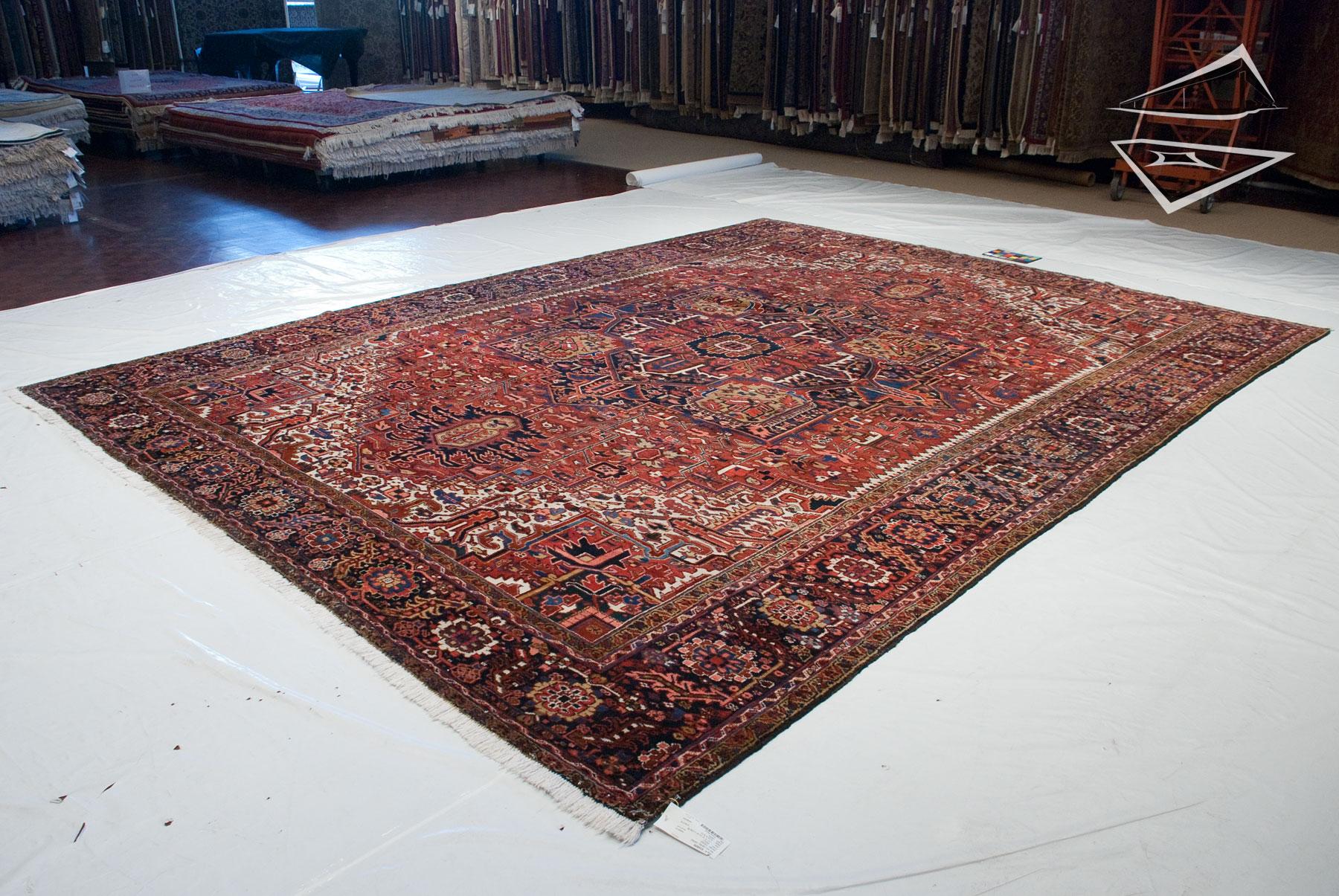 Persian Heriz Rug 12 X 15